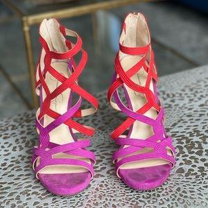 Jessica Simpson Two Tone Heels